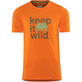 Columbia Miller Valley - Camiseta manga corta Hombre - naranja